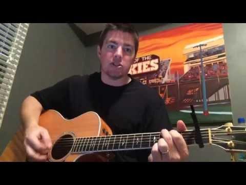 Make You Miss Me - Sam Hunt (Beginner Guitar Lesson)