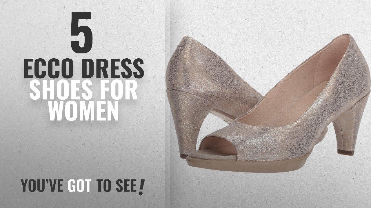 b4ae0039b0f6 Top 5 Ecco Dress Shoes For Women  2018   ECCO Women s Women s Shape 55 Peep  Toe Pump