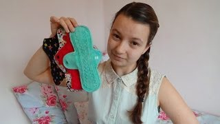 Using cloth menstrual pads at school