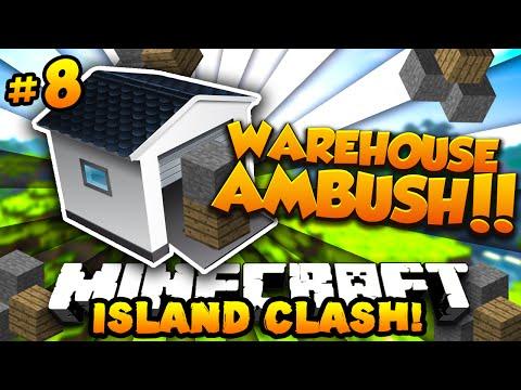 Minecraft ISLAND CLASH #8