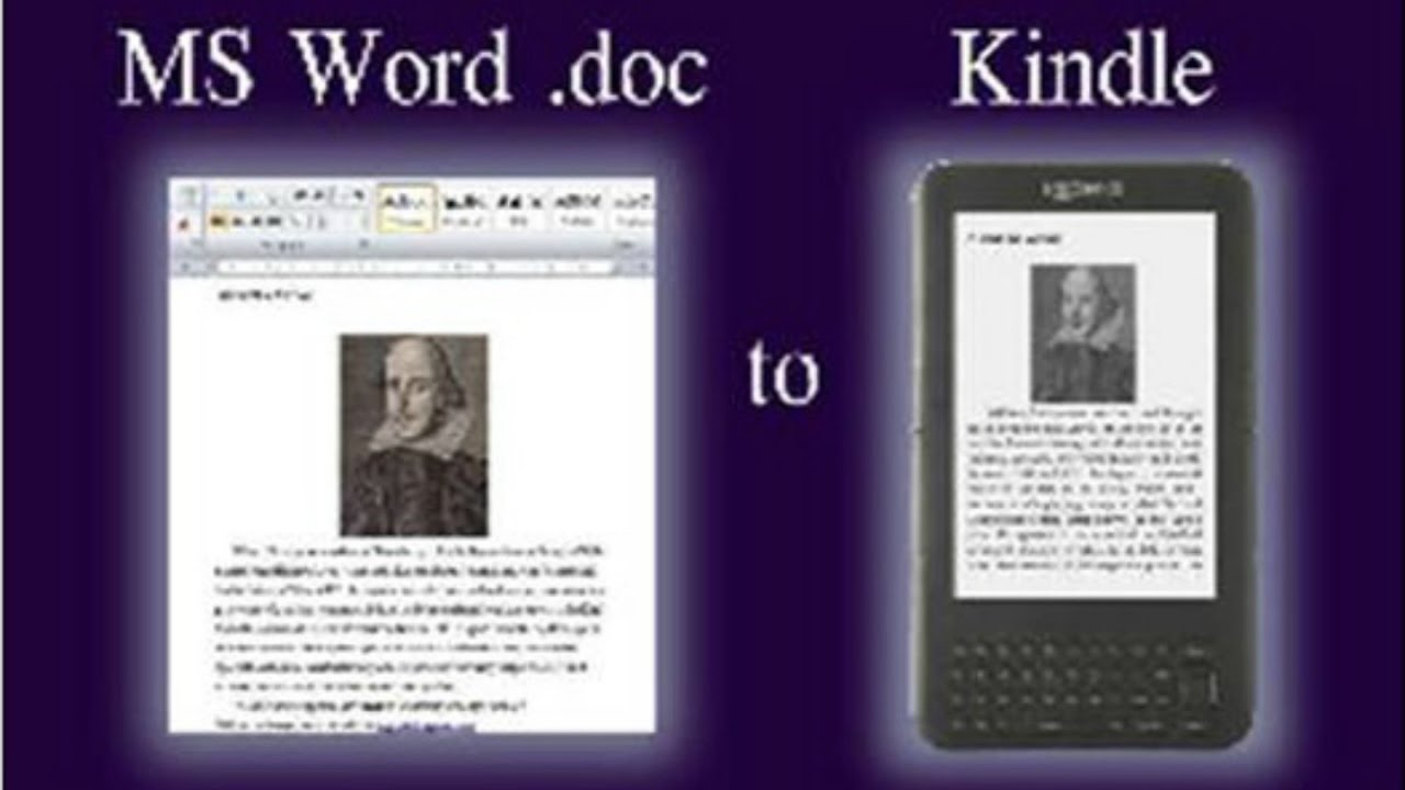 How to convert ms word doc to kindle format simple process live training