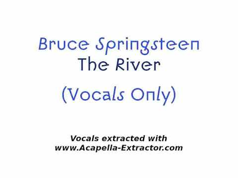 EXTRACTED VOCALS / Bruce Springsteen - The River