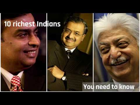 10 richest Indians in the world