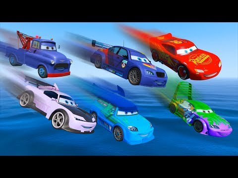 Thumbnail: Cars Party Lightning McQueen Max Schnell Boost DJ Wingo Ivan Disney Pixar Cars 3 and All Friends