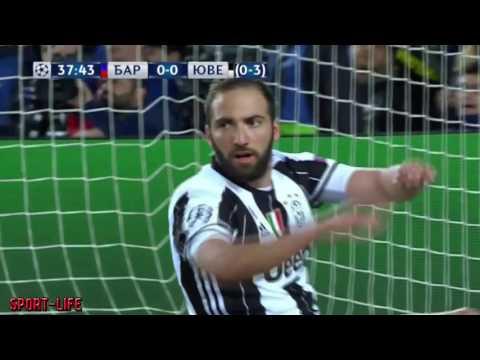 Барселона - Ювентус 0:0 Обзор Матча Лига Чемпионов 20.04.2017 HD