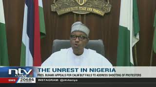Unrest in Nigeria: President Buhari appeals for calm but fails to address the shooting of protestors