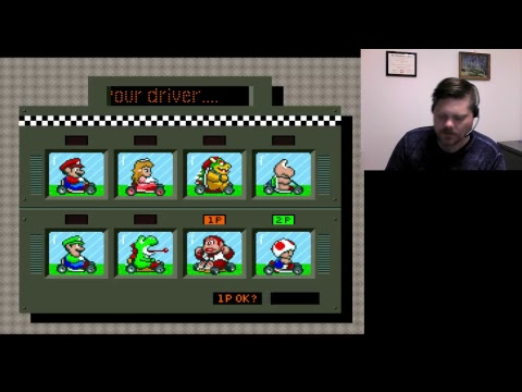 Super Mario Kart - SNES (WiiU Virtual Console)  VGHI Play 'n' Chat Live Stream