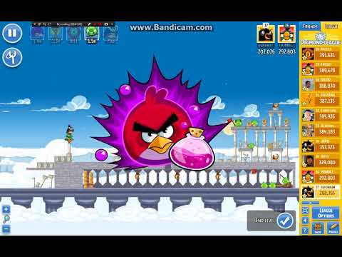 Angry Birds Friends/ Ancient Greece tournament, week 297/1, level 3