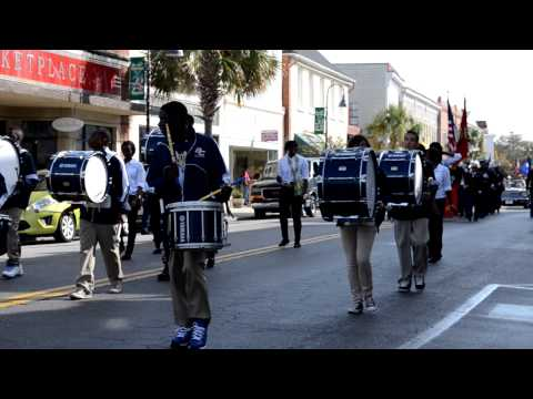 Battery Creek High School marching band & Jr. ROTC