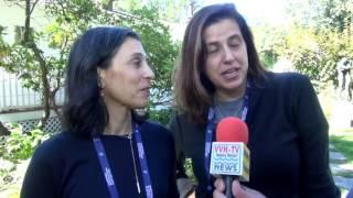 Beatrice Alda & Jennifer Brooke - Filmmakers at HIFF on VVH-TV