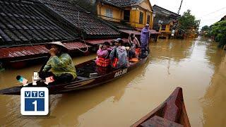 Cảnh báo mưa lớn gây ngập úng miền Trung