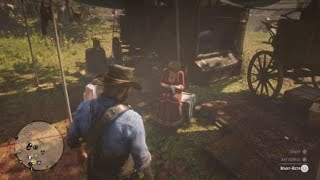 Red Dead Redemption 2 (PS4) - Karen and Mary-Beth Talk About Women Voting