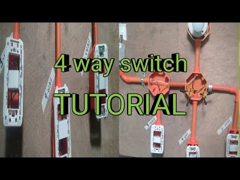 4-WAY SWITCH INSTALLATION (TAGALOG)  TUTORIAL