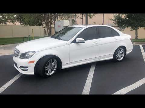 2013 WHITE MERCEDES-BENZ C-CLASS C250 (WDDGF4HB5DA) with an 1.8L engine, Automatic transmission, located at 6921 40th St N, Pinellas Park, FL, 33781, (727) 366-8136, 27.834944, -82.687653 - Photo #0
