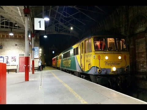 Crewe Railway Station Overnighter - 6th to 7th May 2016