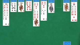 Microsoft Solitaire Collection, Spider, 2 Suits, 1156, Part 1