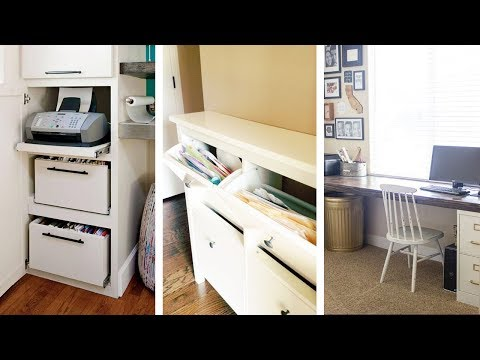 22 Super Creative Yet Functional Office Storage Ideas