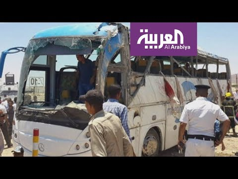 عشرات الضحايا في هجوم على حافلة أقباط بالمنيا