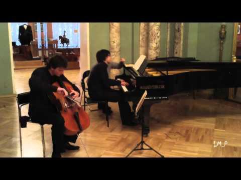 Чайковский Пётр Ильич - Pezzo capriccioso для виолончели и оркестра (фортепиано) си минор