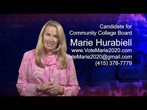 Marie Hurabiell - Candidate For Community College Board