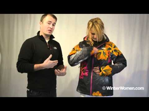 b7b7349ce7 The North Face Women s Snow Cougar Jacket.m4v - YouTube