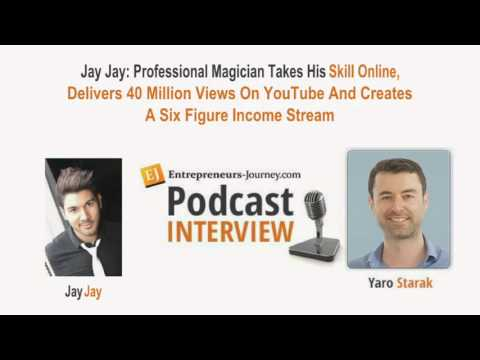Professional Magician  Goes Online, Gets 40 Million YouTube Views & Cretaes 6 Figure Income Video