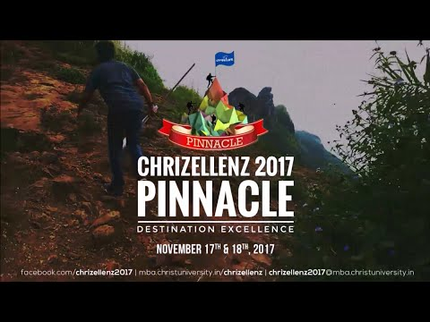Chrizellenz 2017 Promo | Pinnacle | Institute of Management, Christ University, Bangalore (Full HD)