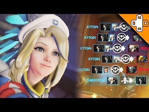 How To STEAL POTG as Mercy! Overwatch Funny & Epic Moments 496