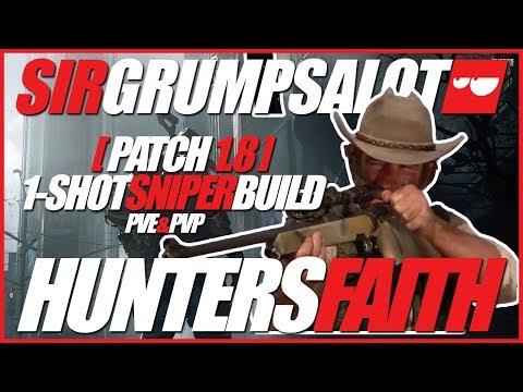Hunters Faith 1-shot sniper build | Classified 6 piece | PVE & PVP | Legendary Times Square solo!