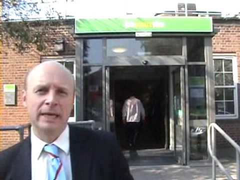 Liam Byrne MP visits Job Centre Plus in Washwood Heath