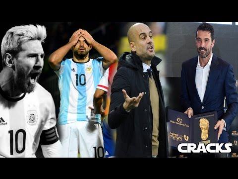 NO MESSI, NO PARTY   GUARDIOLA quiso dirigir a ARGENTINA   BUFFON le ganó premio a CR7