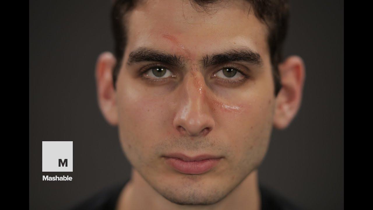 Halloween Makeup Tutorial: DIY Scars | Mashable - YouTube