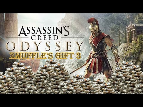 AC Odyssey: Make Over 3 MILLION Drachmae PER/HR, Very Fast XP And Materials! [zMuffle's Gift 3]