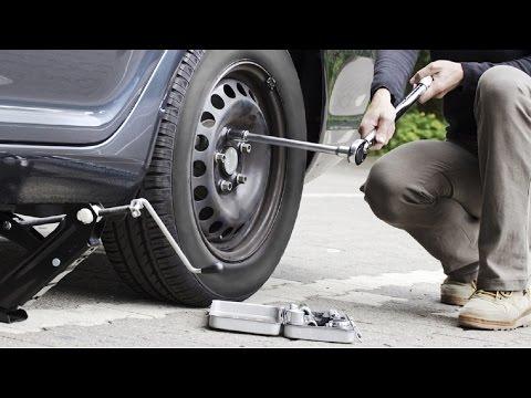 Как снять секретки с колес без ключа видео