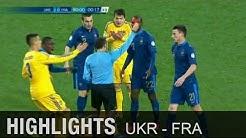 Elfer und 2x Rot! Ribery und Co. vor dem Aus | Ukraine - Frankreich 2:0 | WM-Quali