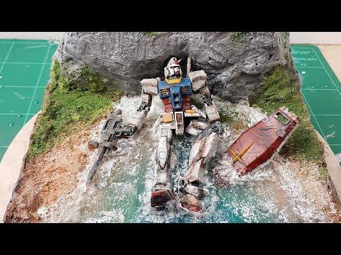 Ruined Gundam RX-78-2 Diorama | Dinda Wardhanie