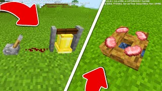MCPE 1.11 Secret Features You Might Not Know | Minecraft PE