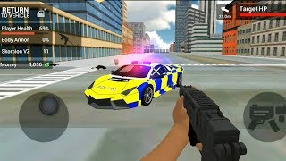 Police Car Driving: Motorbike Riding - Police Officer Simulator - Android Gameplay FHD