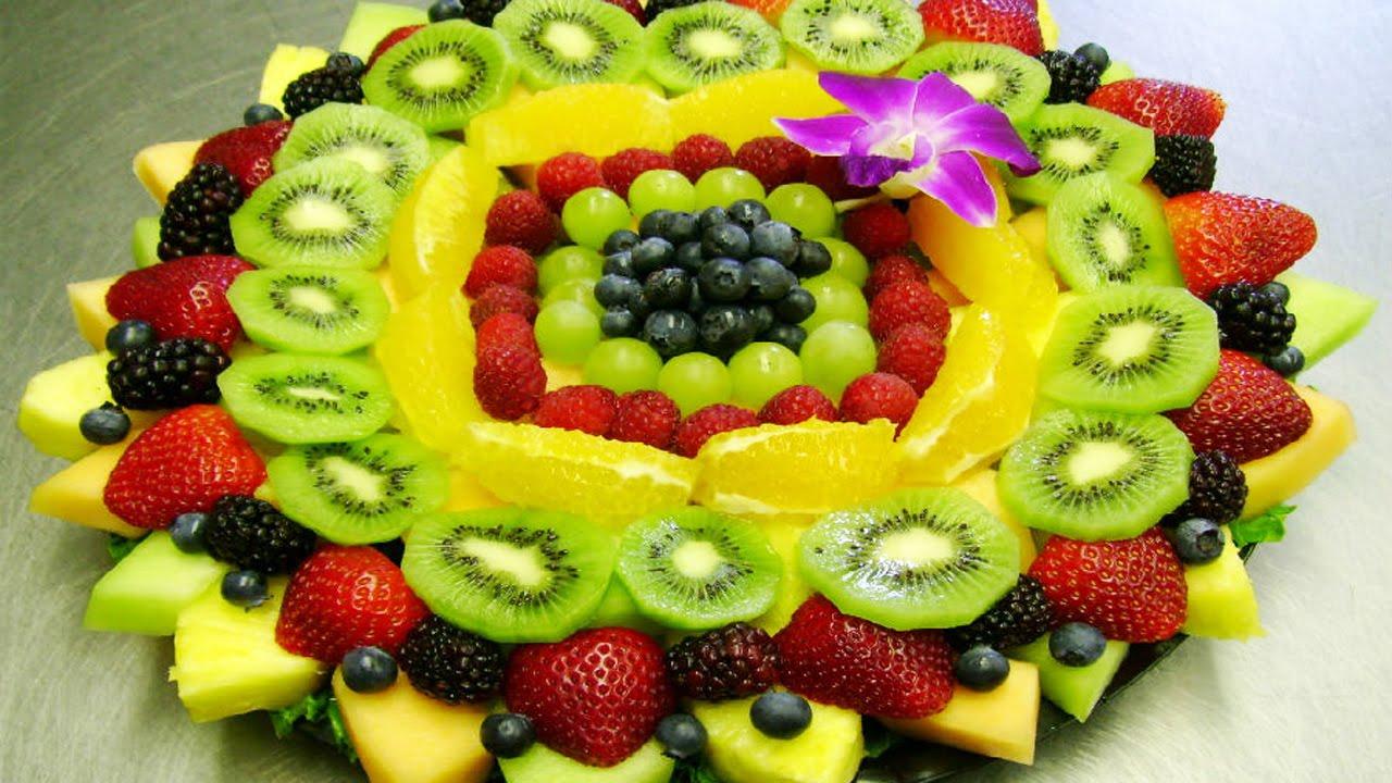 Овощные и фруктовые нарезки