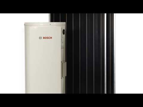 The Bosch Solar Hot Water Systems Range - No Longer Available