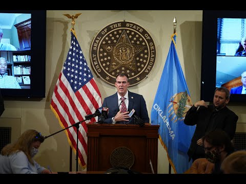 Governor Stitt Gives Update On McGirt v. Oklahoma Ruling and It's Effects On Oklahoma