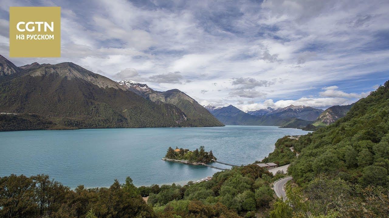 «Восточная Женева» - так называют известное священное озеро Басунцо в Тибете