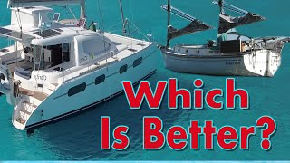 Catamaran vs Monohull - A comprehensive review from owners of both