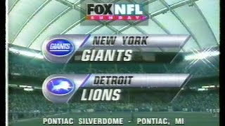NFL on FOX - 1996 Week 6 - New York Giants vs Detroit Lions open