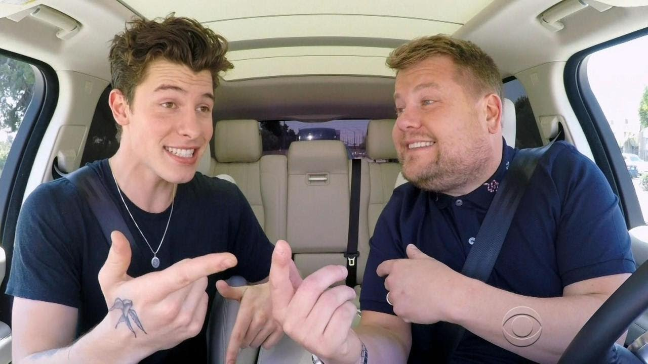 Carpool Karaoke Watch Shawn Mendes Fully Geek Out Over Harry Potter