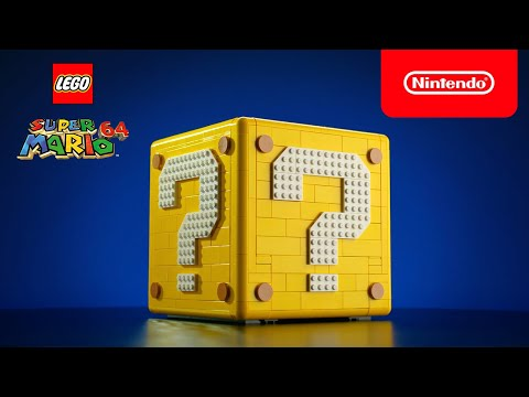 Recapture the magic of Super Mario 64 with this buildable LEGO ? Block