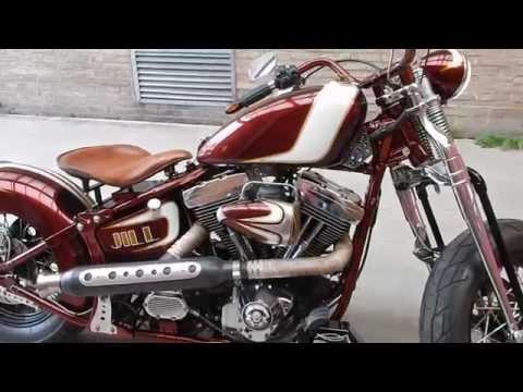 Harley Davidson FLSTS Softail Springer in Bobber style for sale