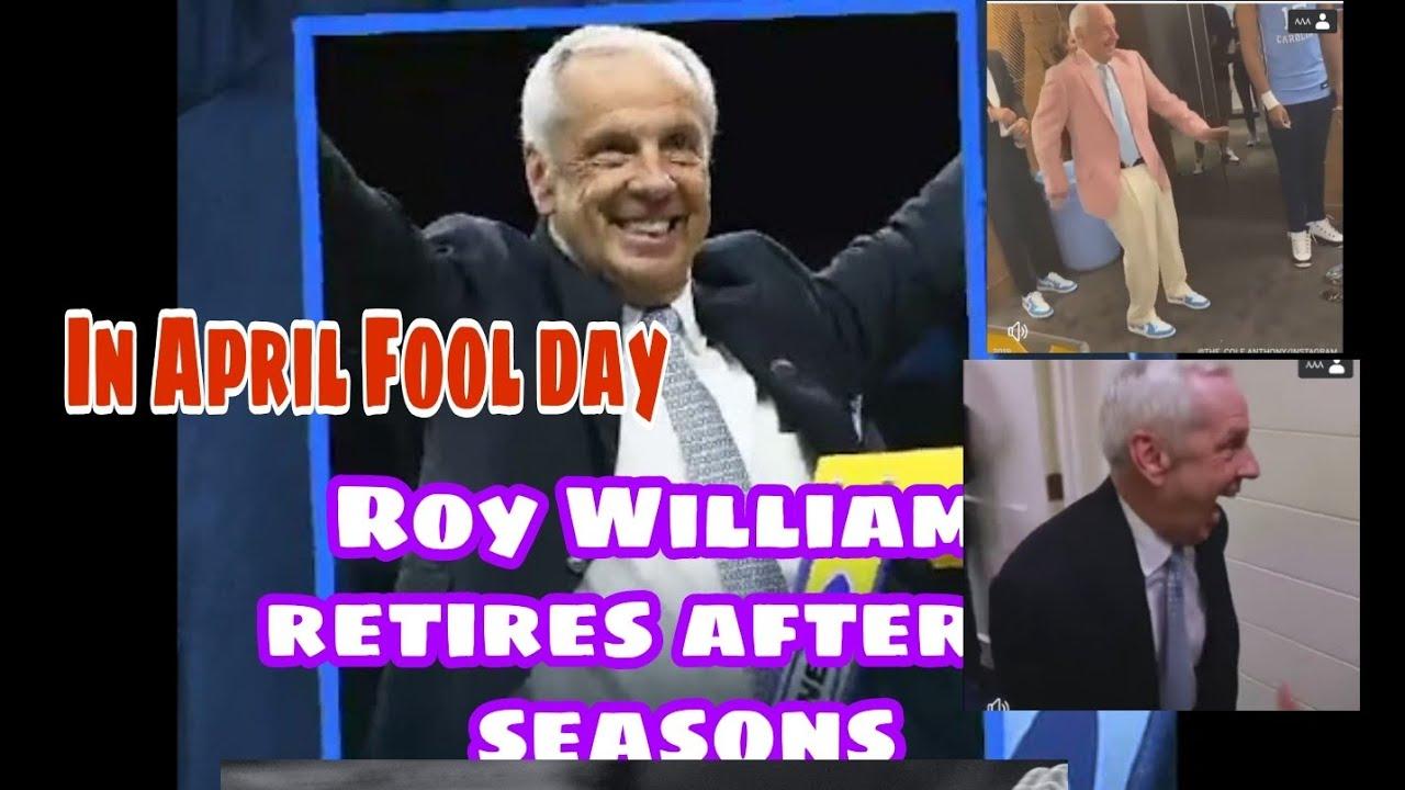 UNC Men's Basketball Coach Roy Williams Retires After 33 Seasons