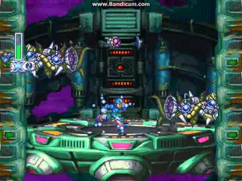 Megaman X4 walkthrough part 3 (Bio lab) - YouTube