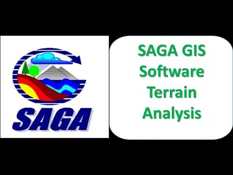 10 SAGA GIS Software Terrain Analysis